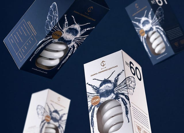 Be: Packaging by Angelina Pischikova