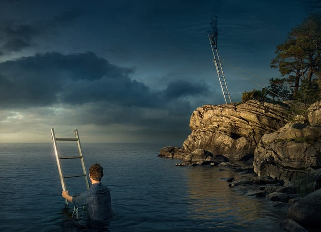 Be: All Above the Sky, by Erik Johansson